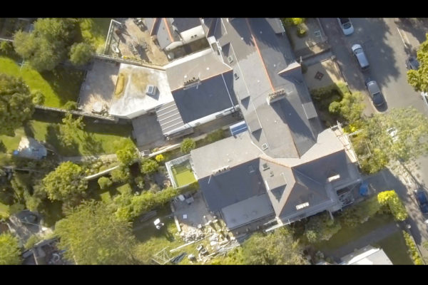 Aerial Roof & Chimney Survey